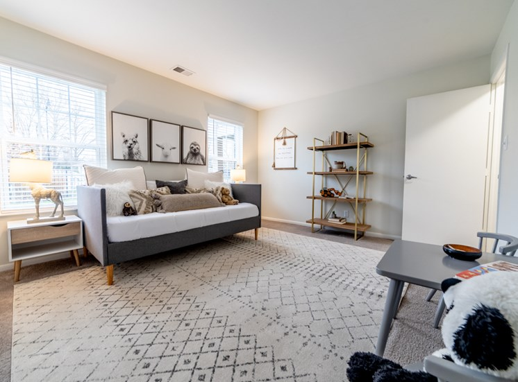 Comfortable Living Room at Governor Square Apartments, Carmel, 46032