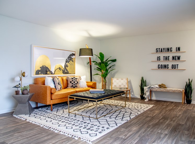 Comfortable Sofa at Governor Square Apartments, Indiana, 46032