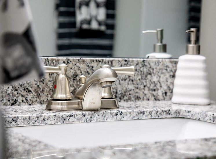 Bathroom Faucet at Governor Square Apartments, Carmel, IN, 46032