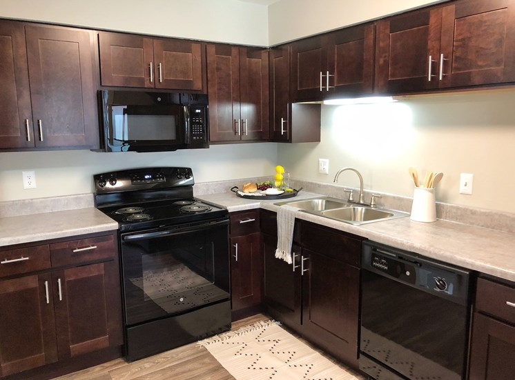 Kitchen layout at Governor Square