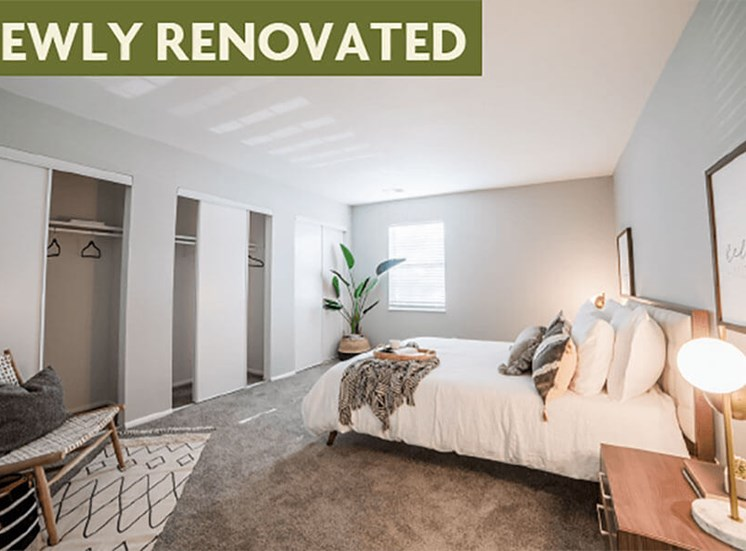 Trendy Master Carpeted Bedroom at Governor Square Apartments, Carmel, 46032