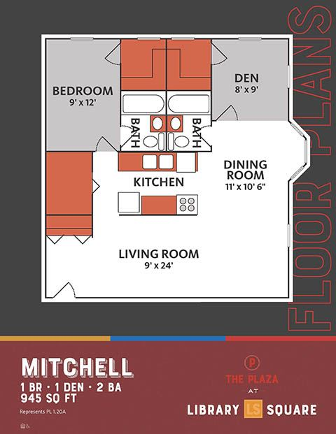 Mitchell, The Plaza Historic Apartments in Downtown Indianapolis