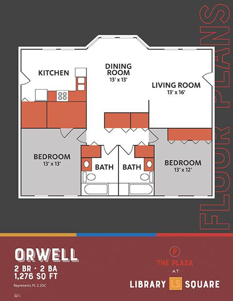 Orwell, The Plaza Historic Apartments in Downtown Indianapolis
