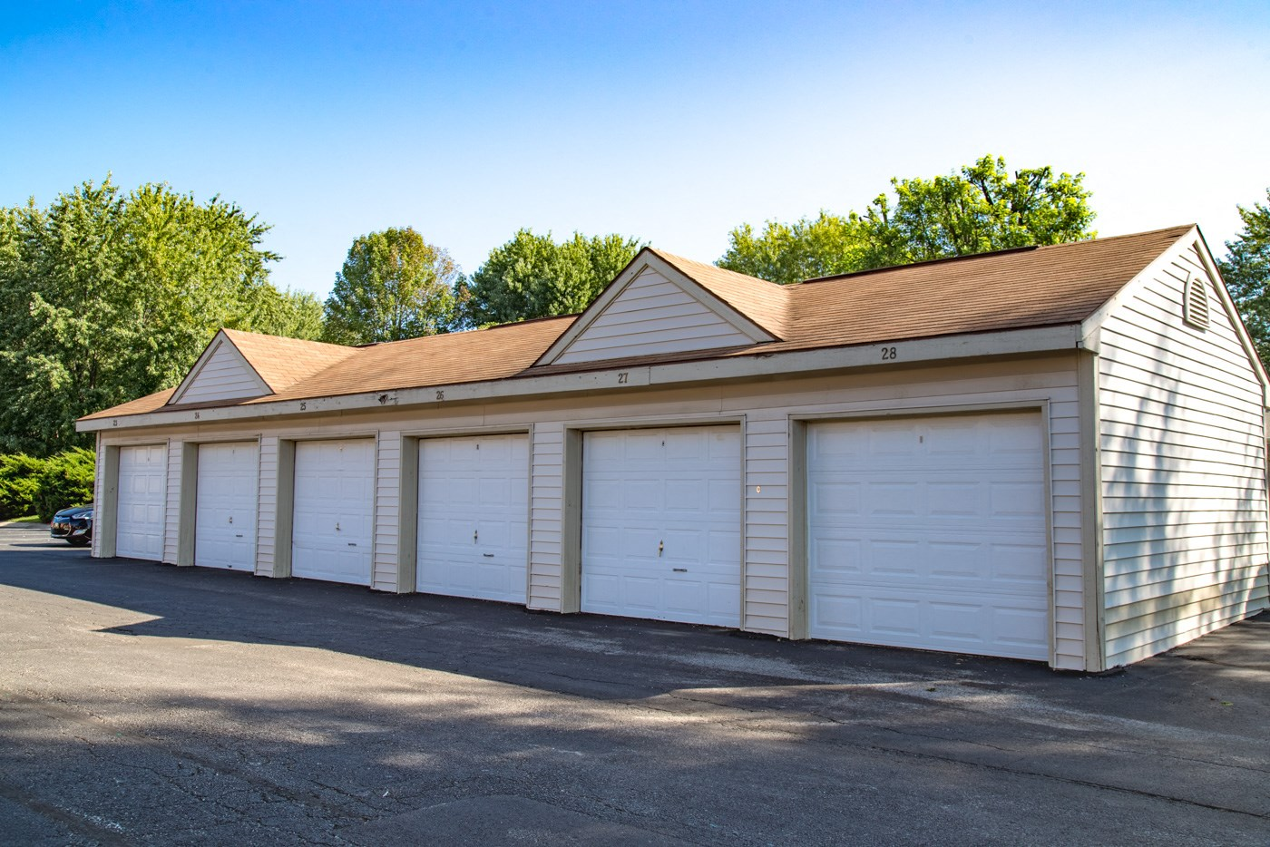 private Garages in community