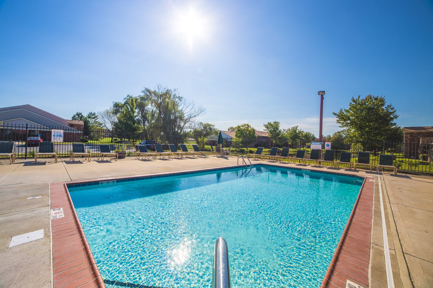 Swimming Pool and sundeck