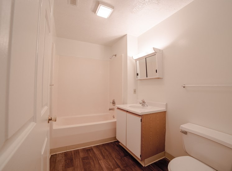 Bathroom -  Bradford Run Affordable Apartments in Kokomo, Indiana
