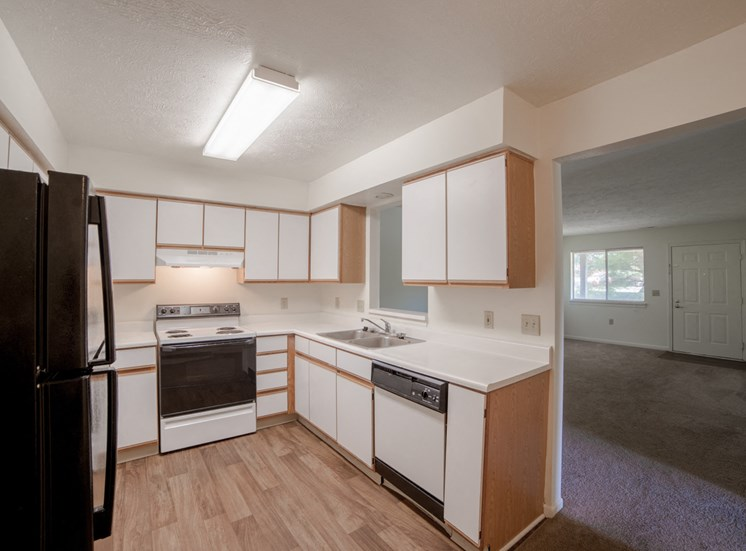 Kitchen -  Bradford Run Affordable Apartments in Kokomo, Indiana