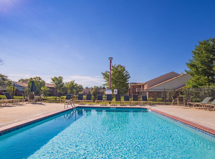 Swimming Pool -  Bradford Run Affordable Apartments in Kokomo, Indiana