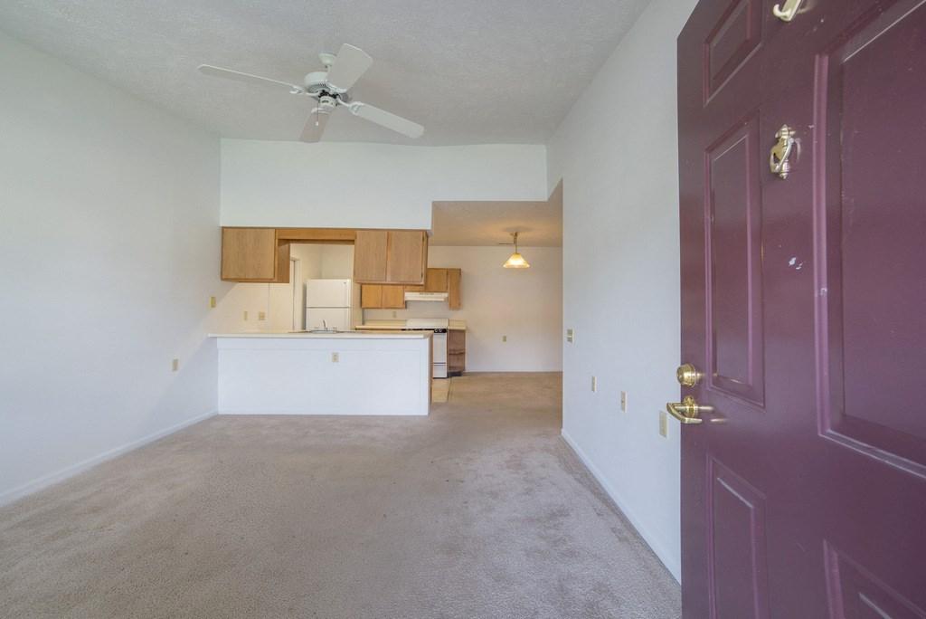 interior of apartment living room