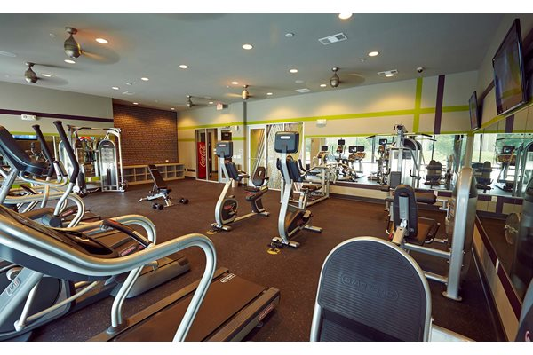 Fitness Center-  The Cole Apartments in Columbus, Indiana