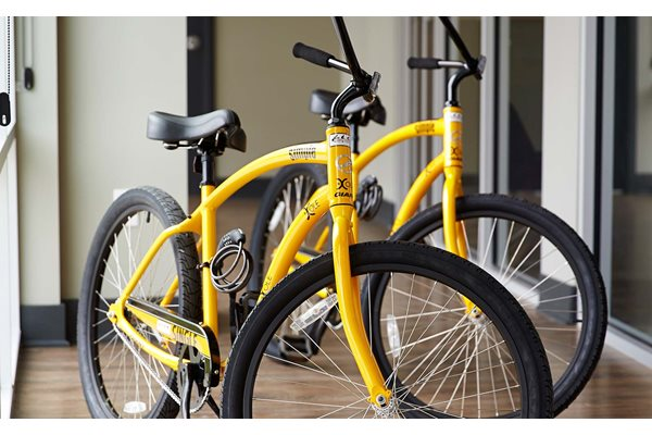 Bikes - The Cole Apartments in Columbus, Indiana