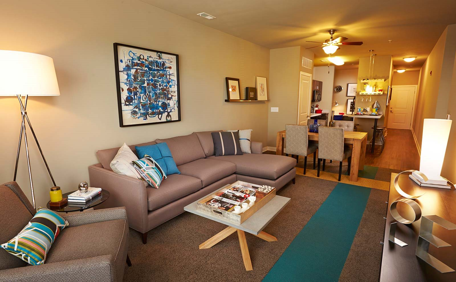 Model apartment -  The Cole Apartments in Columbus, Indiana