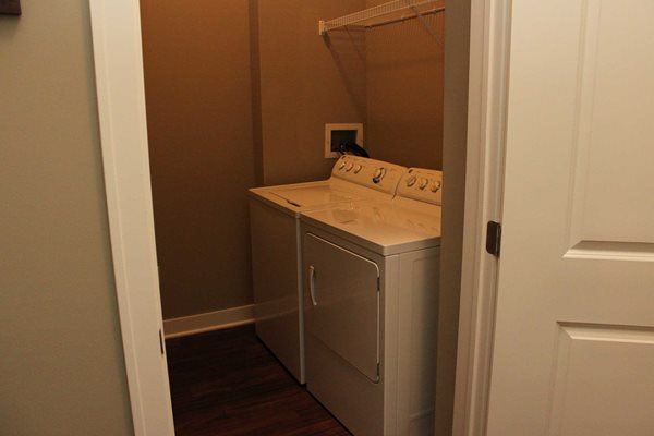 Laundry Room -  The Cole Apartments in Columbus, Indiana