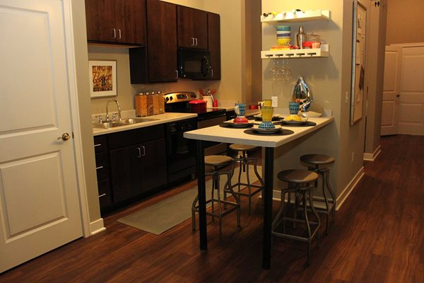 Kitchen -  The Cole Apartments in Columbus, Indiana