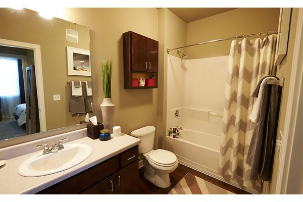 Bathroom -  The Cole Apartments in Columbus, Indiana