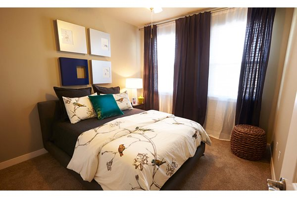Bedroom -  The Cole Apartments in Columbus, Indiana