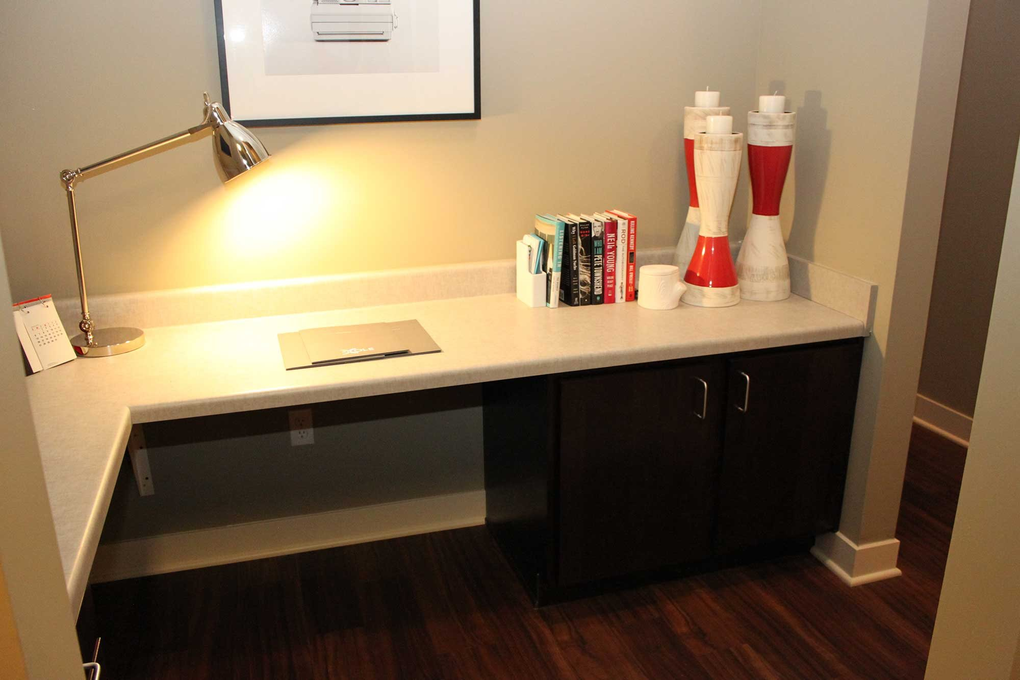 Built in Desk -  The Cole Apartments in Columbus, Indiana