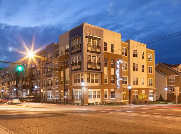 The Langston Apartments near Cleveland State University