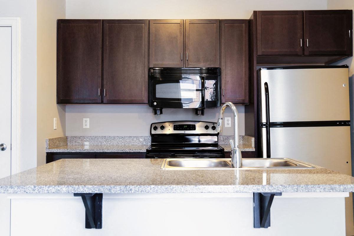 Modern Kitchens With Clean Steel Appliances