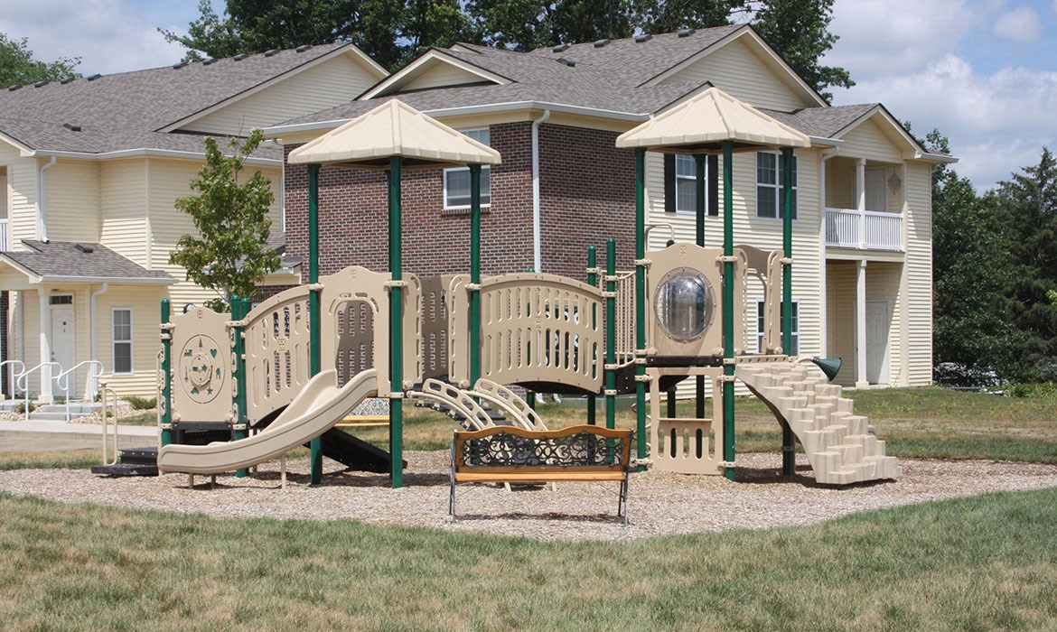 playground for kids in community