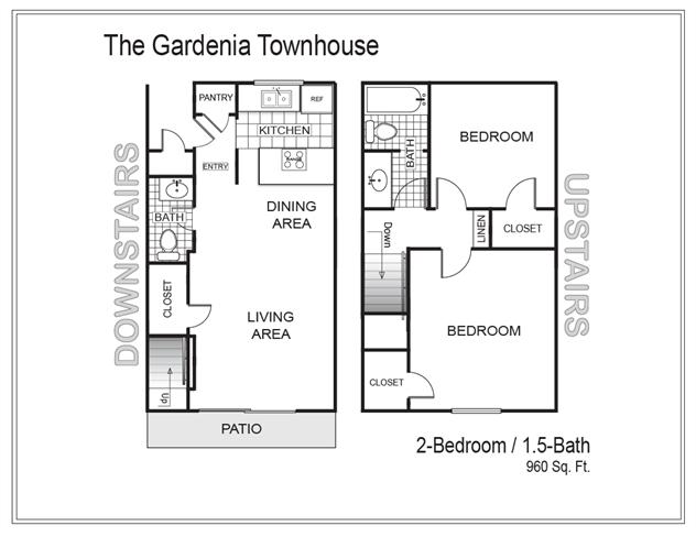 Floor Plans of The Villas at Fair Oaks in Sacramento, CA