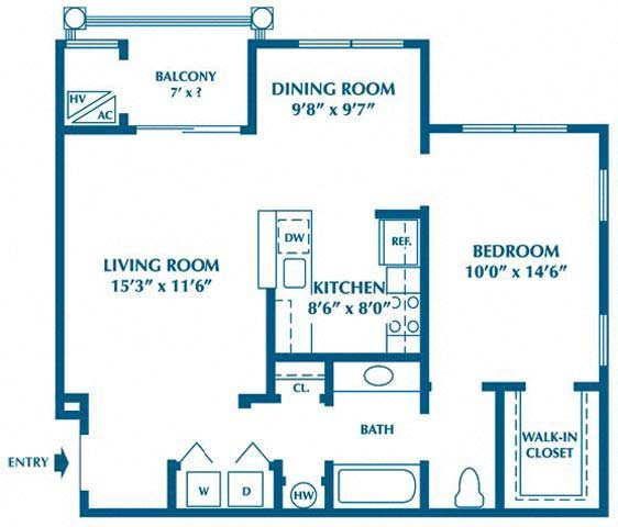 The Aspen Floor Plan 1