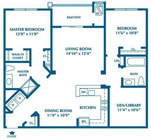 The Cypress Floor Plan 3