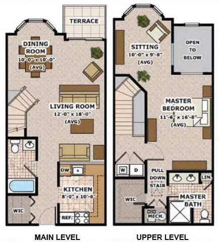 Loft II Floor Plan 1