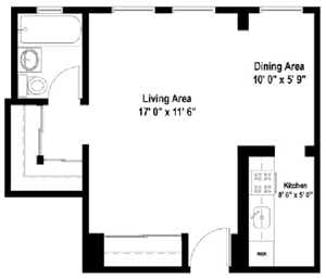 Studio Floor Plan S5