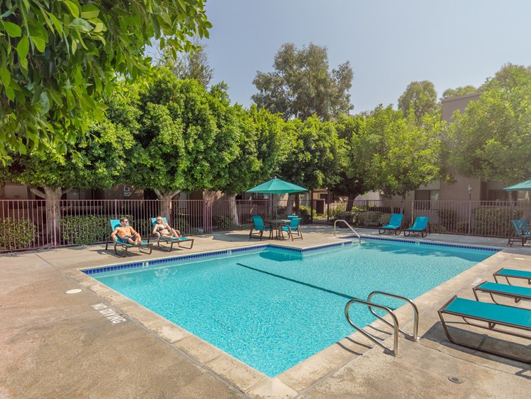 Canoga-Park-NMS-West-Hills-Luxury-Apartment-West-Hills-Exterior-Pool-Couple