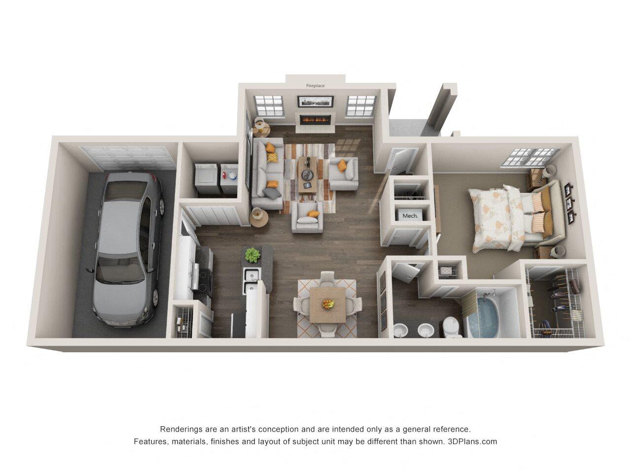 Amherst Floor Plan 1