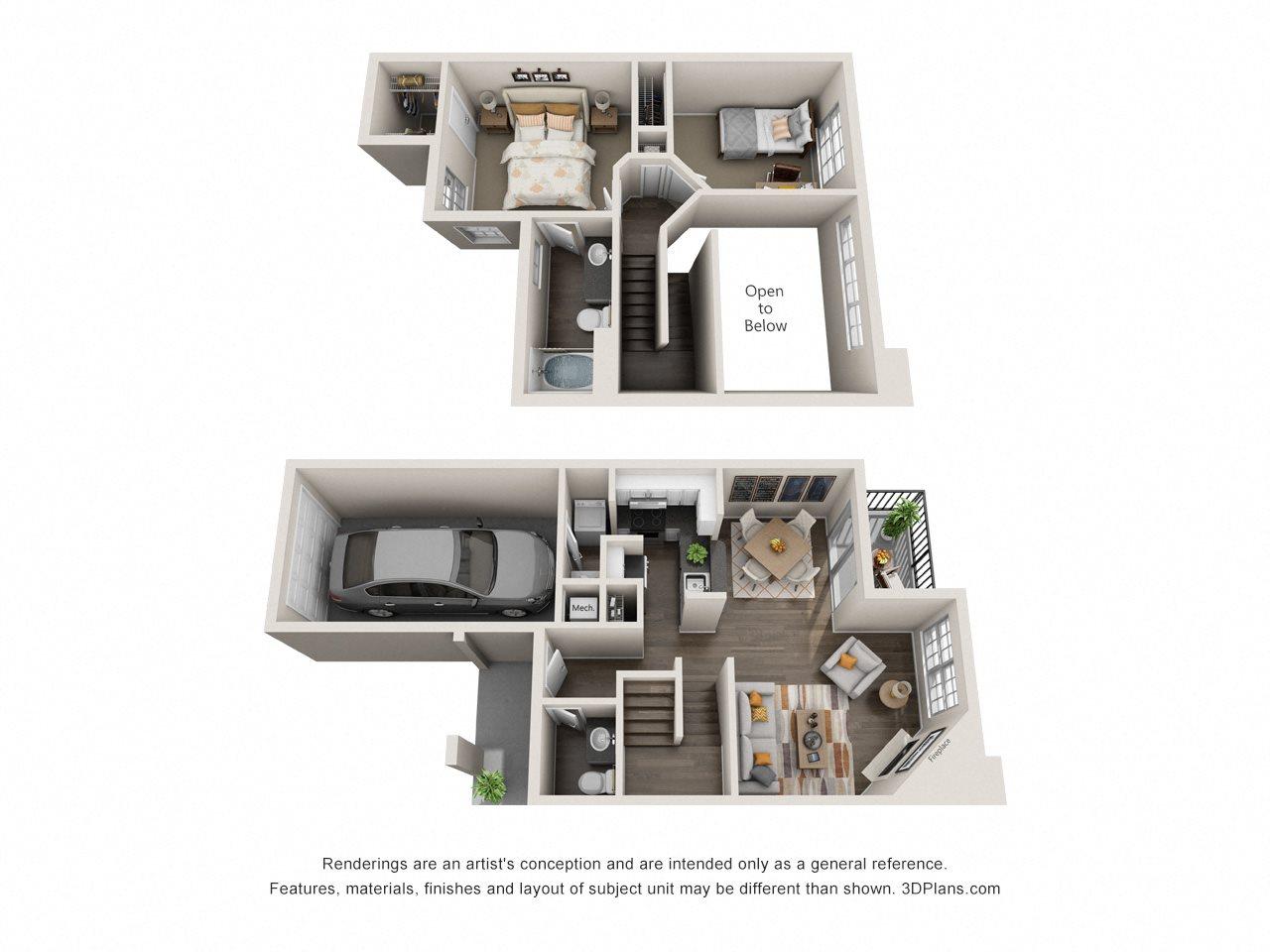 Cambridge Floor Plan 2