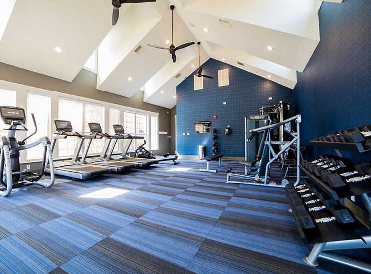 Free Weights at The Village on Spring Mill, Indiana, 46032