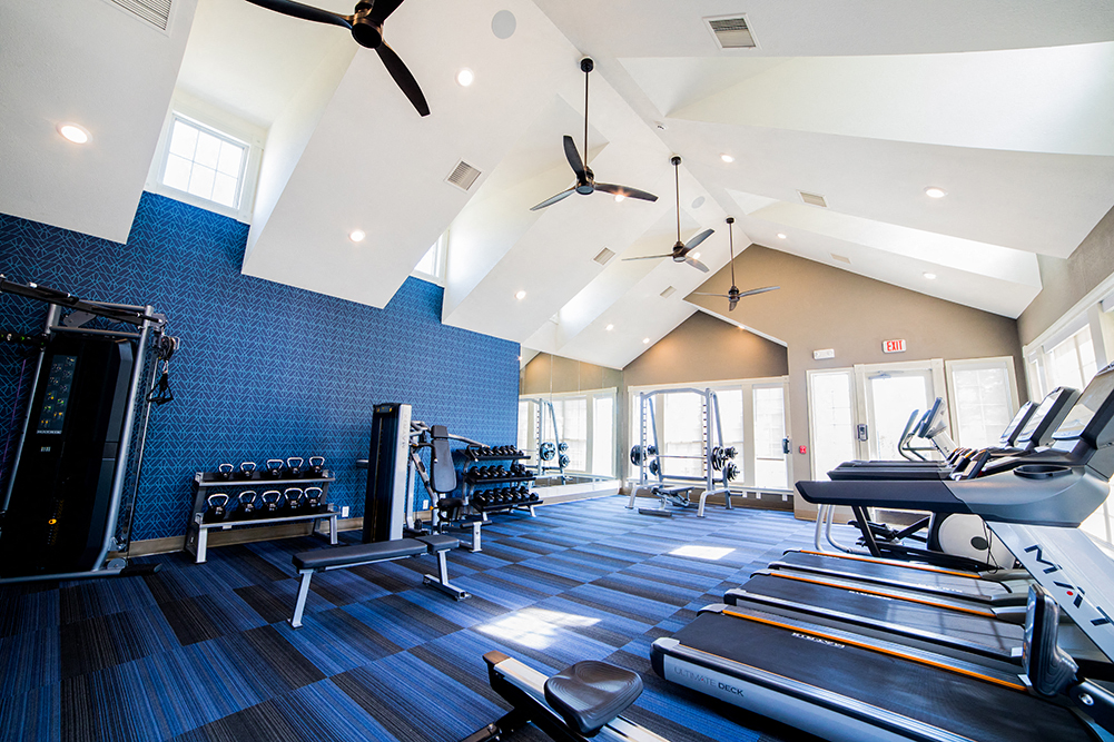 State-of-the-Art Fitness Center at The Village on Spring Mill, Carmel, IN, 46032