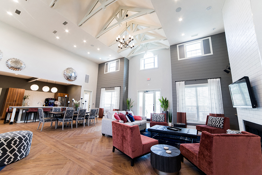 Clubhouse at The Village on Spring Mill, Carmel, Indiana