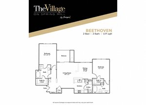 Village on Springmill Apartments in Carmel, IN
