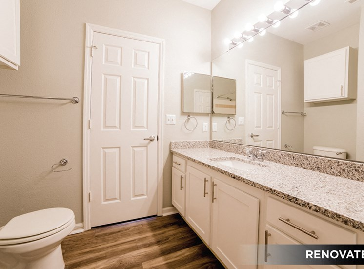 Spacious Bathrooms at The Village on Spring Mill, Carmel, IN, 46032