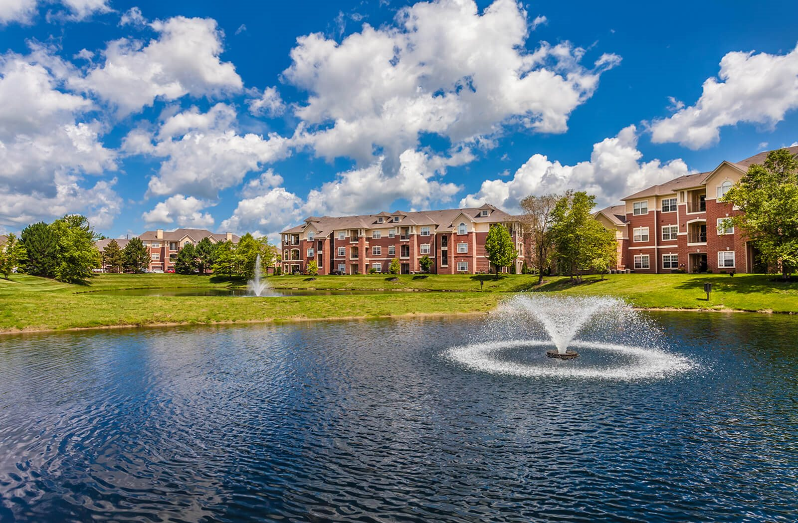 The Village on Spring Mill Apartments in Carmel Indiana