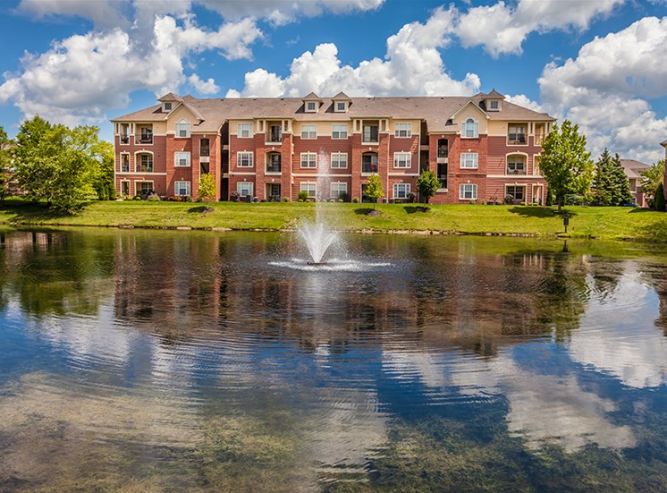 Exceptional Water Views at The Village on Spring Mill, Indiana, 46032