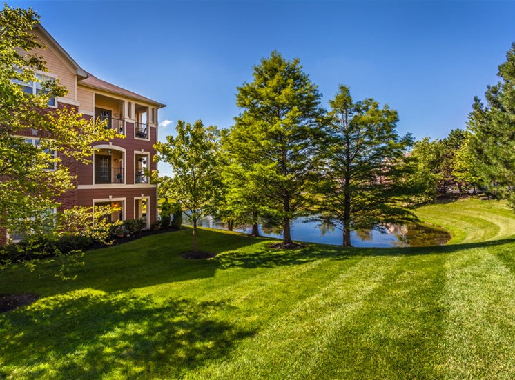 Quiet Community in Wooded Setting at The Village on Spring Mill, Carmel, IN, 46032