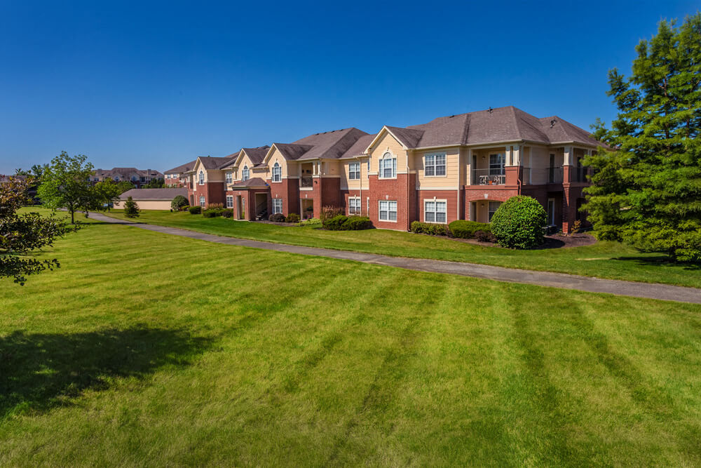 Stunning Mature Landscape at The Village on Spring Mill, Carmel, IN