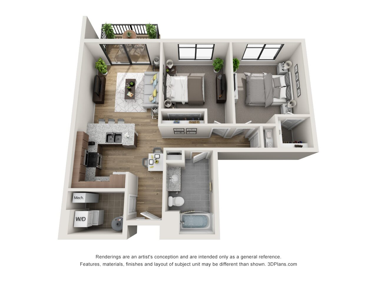 McClellan Floor Plan 5