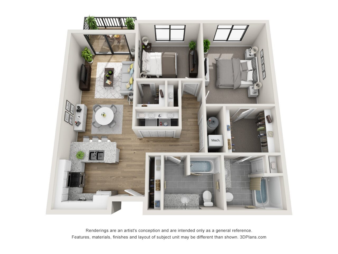 Ithaca Floor Plan 12