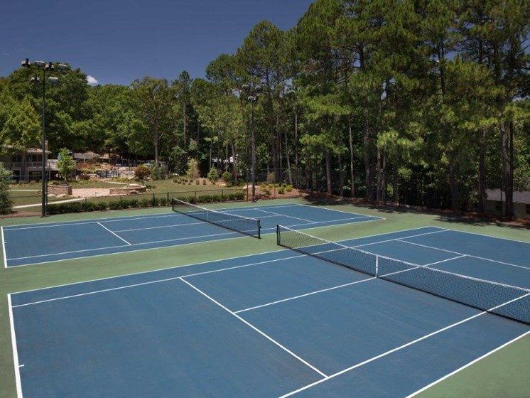 Tennis Court at Paces Ridge at Vinings, Georgia