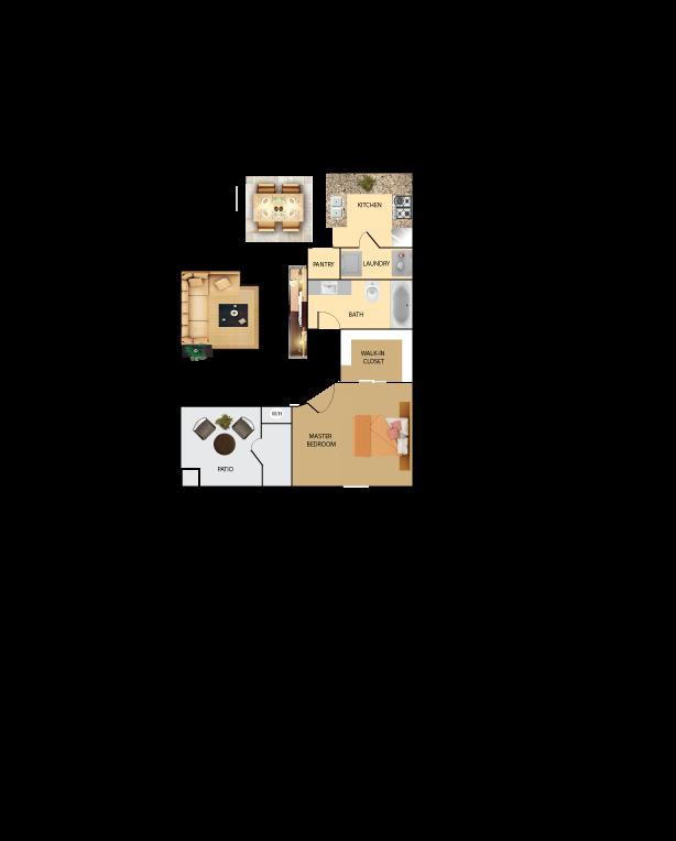1 bedroom 1 bathroom condo
