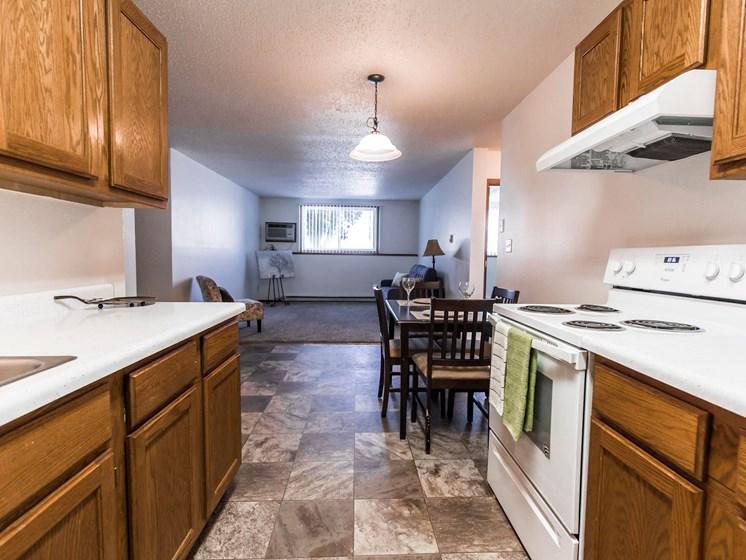 Autumn Apartments | 2 Bedroom | Kitchen & Dining