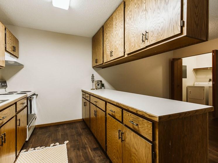 Harrison Apartments | 3 Bedroom | Kitchen, Dining & Hookups