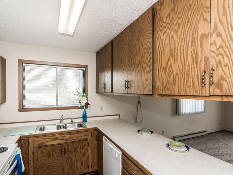 Harrison Apartments | 2 Bedroom (Corner) | Kitchen