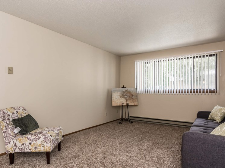 Library Lane Apartments | Living Room