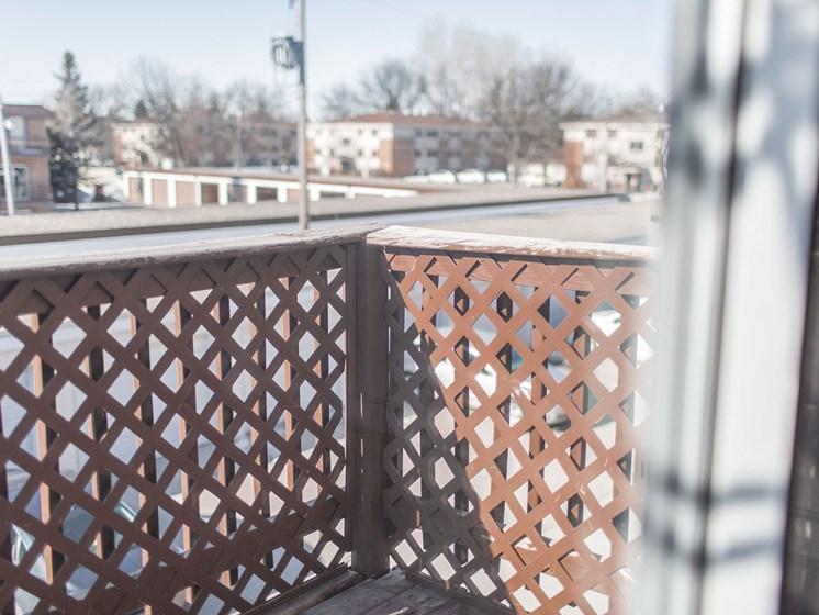 Mayfair Apartments | Balcony